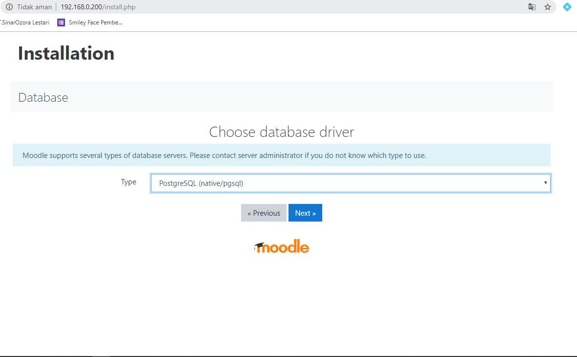 Cara Install Moodle di Debian 10 Menggunakan Nginx, Postgresql, PHP7.4-FPM